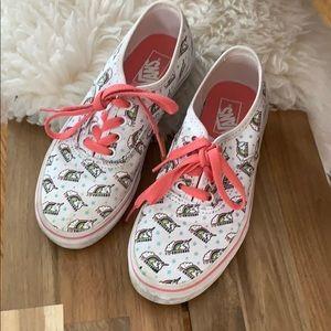 Unicorn Vans old skool sneakers size 2.5 kids